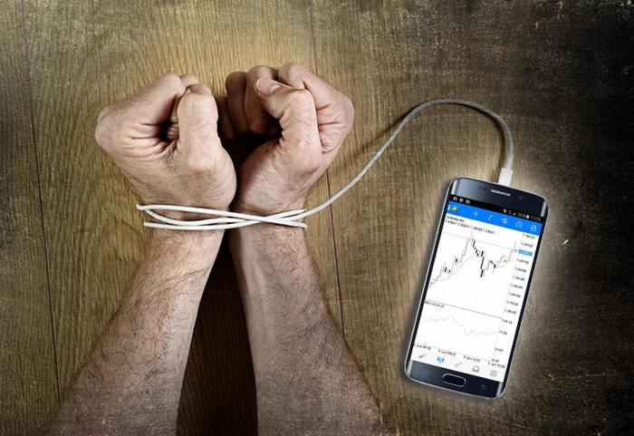اعتیاد به معامله گری در بورس و بازارهای مالی