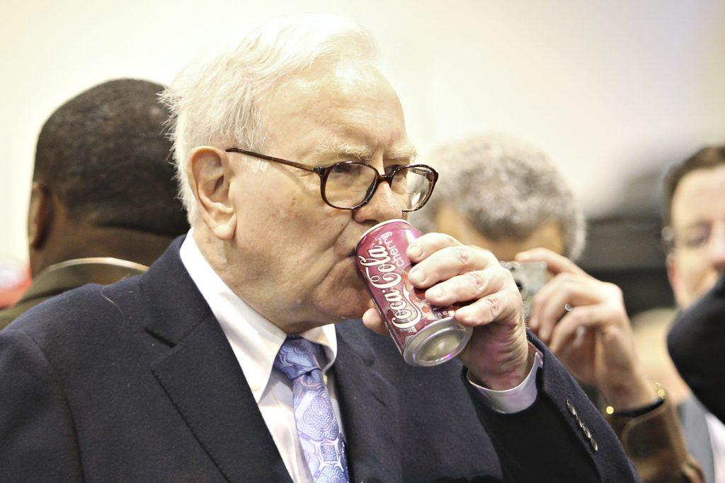 وارن بافت سرمایه گذار کوکاکولا