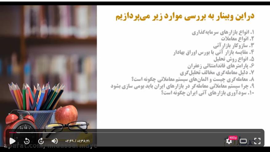 فیلم آموزش و وبینار آشنایی با سیستم فوق حرفه ای آتی زعفران در بورس