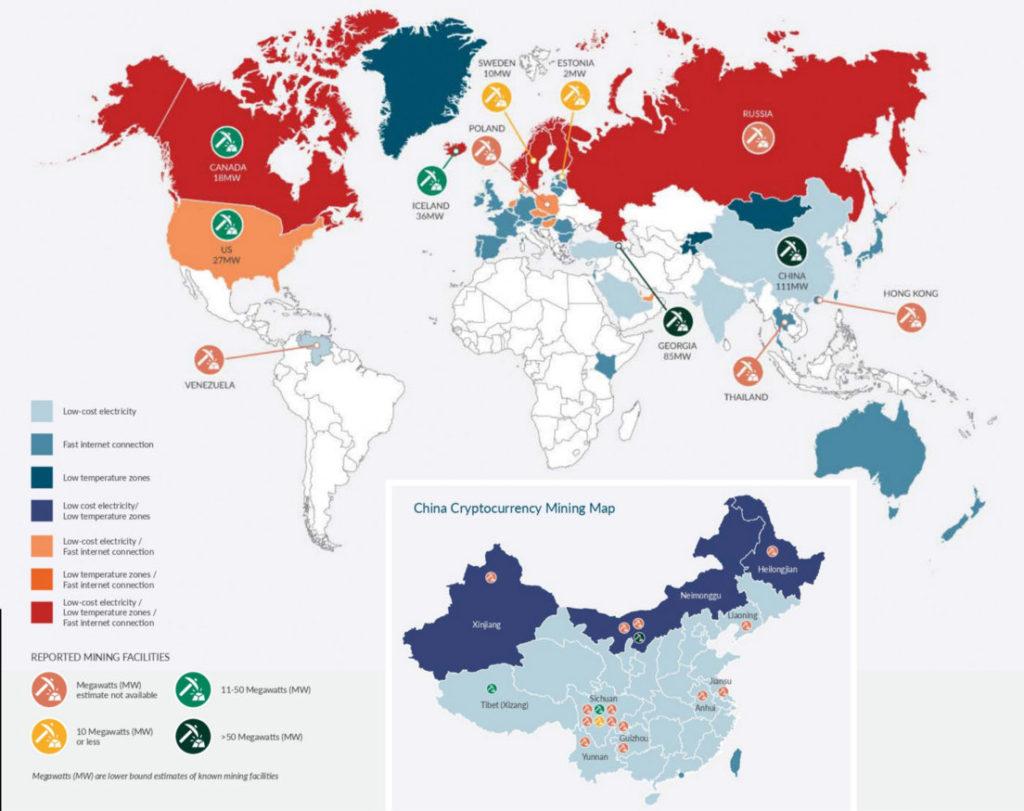 نقشه ی بازار ، ارائه و نقدینگی بازار در ارز دیجیتال